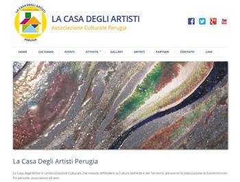 La casa degli artisti Perugia